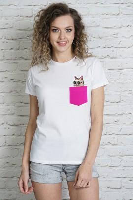 Блузка MARTAR KIESZ CAT-1 розовый