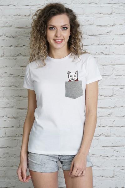 Блузка MARTAR KIESZ CAT-2 серый