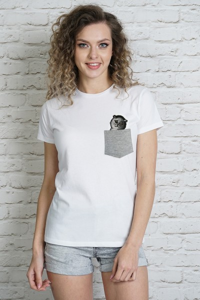 Блузка MARTAR KIESZ CAT-4 серый