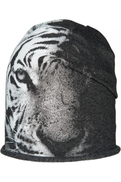 Шапка ANDER D238 графит 6-9 лет