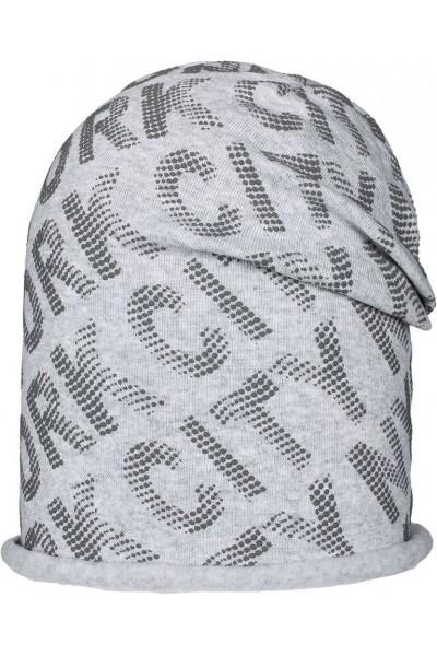 Шапка ANDER D241 светло-серый 6-9 лет