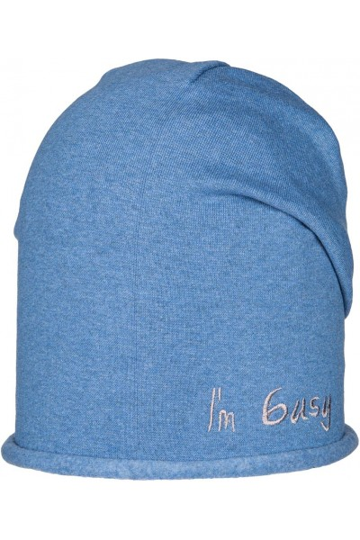 Шапка ANDER D245 синий 6-9 лет