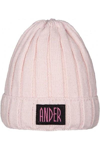 Шапка ANDER 9069 розовый 4-6 лет