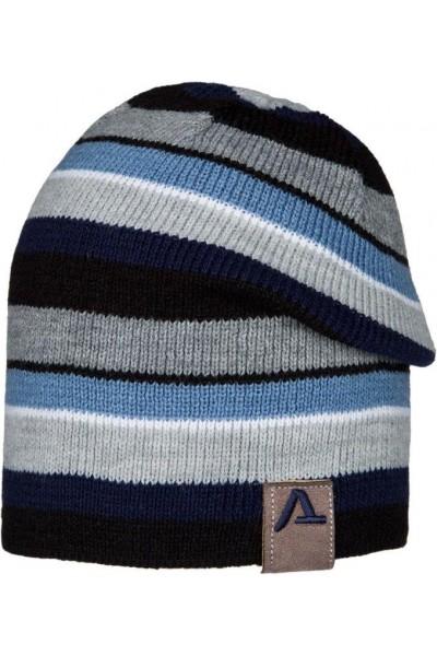 Шапка ANDER 9072 серо-синий 6-9 лет