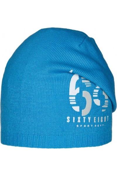 Шапка ANDER 9073 ярко-голубой 4-6 лет