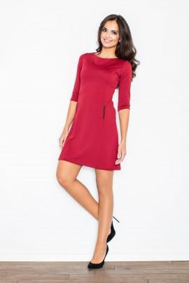 Платье FIGL M145 бордо