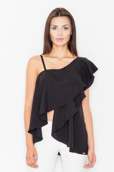 Блузка FIGL M479 чёрный