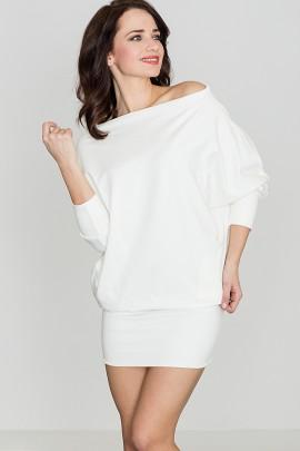 Платье LENITIF K254 экрю