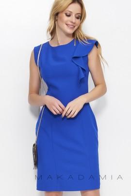 Платье MAKADAMIA M400 синий