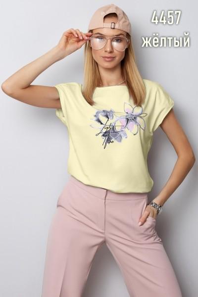 Блузка Latynka 4457 жёлтый