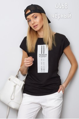 Блузка Latynka 4468 чёрный