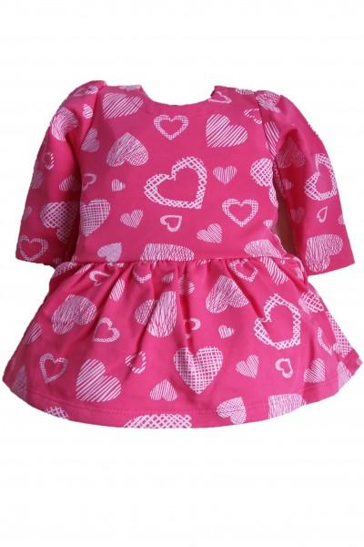Платье LOLA Serca малина хлопок