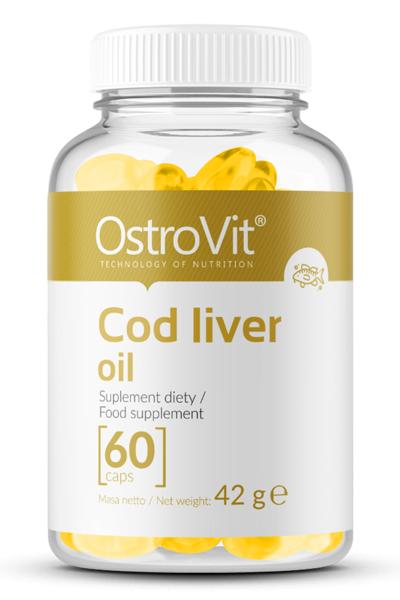 OstroVit Cod liver oil 60 caps