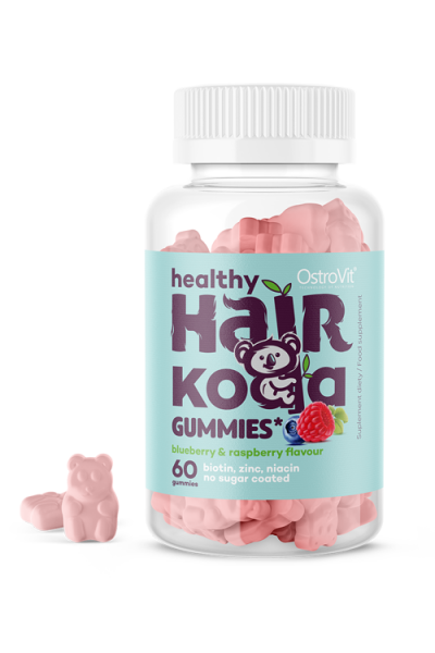 OstroVit Healthy Hair Koala Gummies 60 szt - для волос и кожи