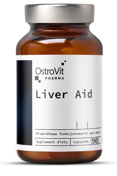 OstroVit Pharma Liver Aid 90 caps - для печени