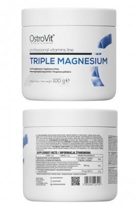 OstroVit Triple Magnesium 100g - магнезия