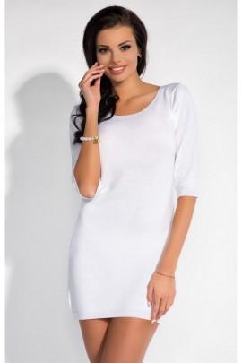Платье FOBYA F184 белый