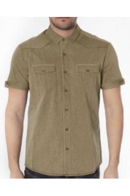 Рубашка SUBLEVEL 0539 беж