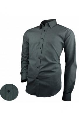 Рубашка Victorio Desire 090 slim малахитовый графит